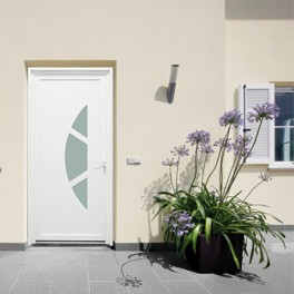 Porte d'entrée pvc BOLOGNE